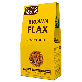Brown Flax seeds (Семена льна)